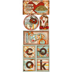 Bo Bunny Press - Kitchen Spice Collection - Cardstock Stickers - Lovin' From The Oven, CLEARANCE