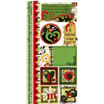 Bo Bunny Press - Splendor Collection - Cardstock Stickers - Our Home