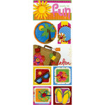Bo Bunny Press - Popsicle Collection - Cardstock Stickers - Ready For Fun