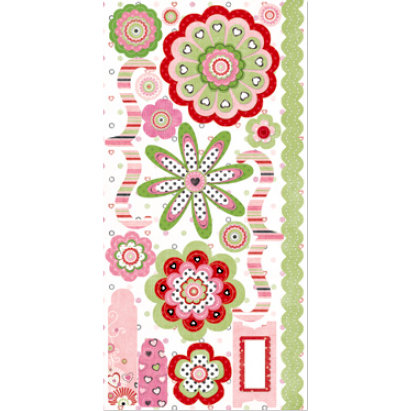 Bo Bunny Press - Sweetie Pie Collection - Cardstock Stickers - Sweetie Pie Accessories