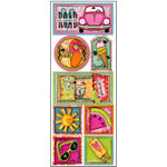 Bo Bunny Press - Love Shack Collection - Cardstock Stickers - Summer Splendor