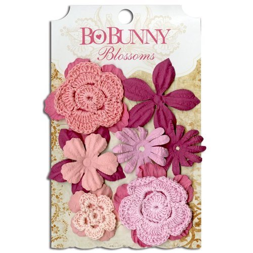 Bo Bunny - Blossoms - Bouquet - Blush