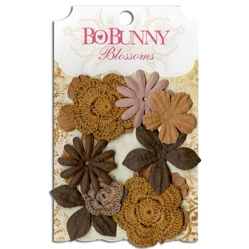 Bo Bunny - Blossoms - Bouquet - Natural Earth