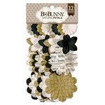 Bo Bunny - Flower Embellishments - Natural Petals