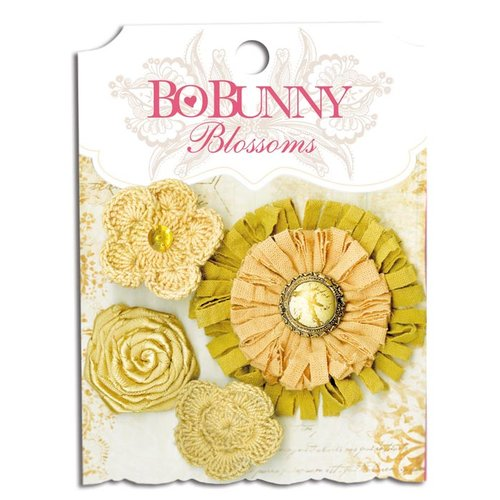 Bo Bunny - Blossoms - Dahlia - Natural Earth