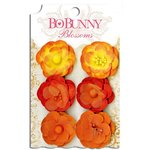 Bo Bunny - Blossoms - Pansy - Harvest Orange