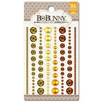 Bo Bunny - Double Dot Designs Collection - Bling - Jewels - Citrus