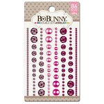 Bo Bunny - Double Dot Designs Collection - Bling - Jewels - Think Pink