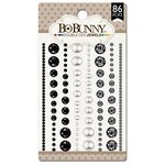 Bo Bunny - Double Dot Designs Collection - Bling - Jewels - Tuxedo