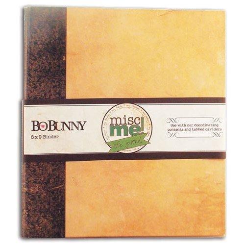 Bo Bunny - Misc Me - Binder - Kraft