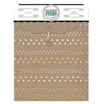 Bo Bunny - Misc Me Collection - Envelopes - Gold and Kraft