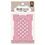 Bo Bunny - Craft Dies - 3 x 4 Lattice Frames