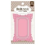 Bo Bunny - Craft Dies - 3 x 4 Ornate Frame