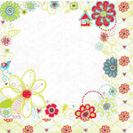 Bo Bunny Press - Alora Collection - 12 x 12 Double Sided Paper - Alora