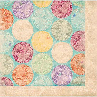 Bo Bunny Press - Ambrosia Collection - 12 x 12 Double Sided Paper - Bouquet