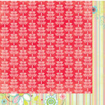 Bo Bunny Press - Alora Collection - 12 x 12 Double Sided Paper - Leaves