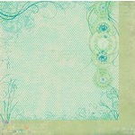 Bo Bunny Press - Ambrosia Collection - 12 x 12 Double Sided Paper - Lilly