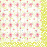 Bo Bunny Press - Alora Collection - 12 x 12 Double Sided Paper - Burst