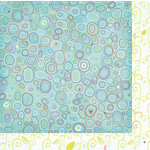Bo Bunny Press - Alora Collection - 12 x 12 Double Sided Paper - Bubbles