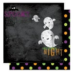 Bo Bunny Press - Boo Crew Collection - Halloween - 12 x 12 Double Sided Paper - Boo Crew