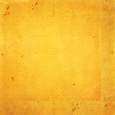 Bo Bunny - Double Dot Designs Collection - 12 x 12 Double Sided Paper - Vintage - Buttercup