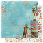 Bo Bunny Press - Blitzen Collection - Christmas - 12 x 12 Double Sided Paper - Gifts