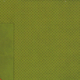 Bo Bunny Press - Double Dot Collection - 12x12 Double Sided Cardstock Paper - Clover