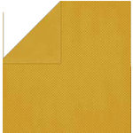 Bo Bunny Press - Double Dot Paper - 12 x 12 Double Sided Paper - Curry Dot, CLEARANCE