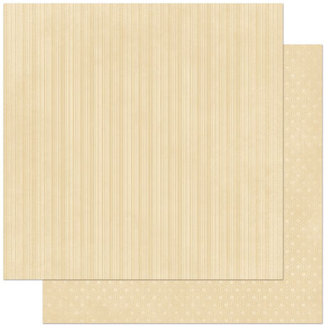 Bo Bunny - Double Dot Designs Collection - 12 x 12 Double Sided Paper - Stripe - Chiffon