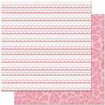 Bo Bunny Press - Crush Collection - Valentine - 12 x 12 Double Sided Paper - Crush Love