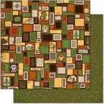 Bo Bunny - Camp-A-Lot Collection - 12 x 12 Double Sided Paper - Squares