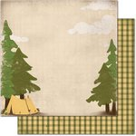 Bo Bunny - Camp-A-Lot Collection - 12 x 12 Double Sided Paper - Camp-A-Lot