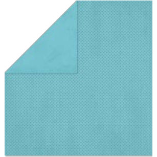 Bo Bunny Press - Double Dot Paper - 12 x 12 Double Sided Paper - Frost Dot, CLEARANCE