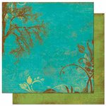 Bo Bunny Press - Forever Fall Collection - 12 x 12 Double Sided Paper - Dusk