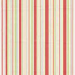Bo Bunny Press - Felicity Collection - 12x12 Paper - Felicity Stripe, CLEARANCE