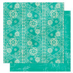 Bo Bunny Press - Gypsy Collection - 12 x 12 Double Sided Paper - Gypsy Lace