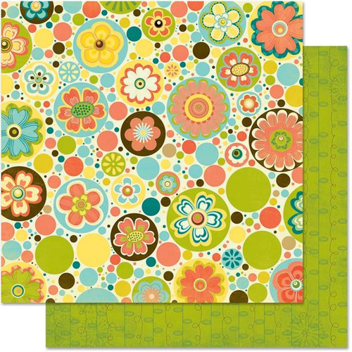 Bo Bunny - Hello Sunshine Collection - 12 x 12 Double Sided Paper - Picnic
