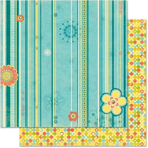 Bo Bunny - Hello Sunshine Collection - 12 x 12 Double Sided Paper - Delight