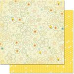 Bo Bunny - Hello Sunshine Collection - 12 x 12 Double Sided Paper - Daydream
