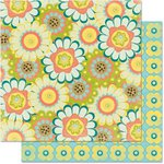 Bo Bunny - Hello Sunshine Collection - 12 x 12 Double Sided Paper - Sweetness