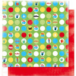 Bo Bunny Press - It's My Party Collection - 12 x 12 Double Sided Paper - It's My Party Confetti