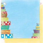 Bo Bunny Press - It's My Party Collection - 12 x 12 Double Sided Paper - It's My Party Presents