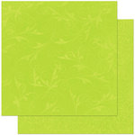 Bo Bunny Press - Double Dot Designs Collection - 12 x 12 Double Sided Paper - Flourish - Kiwi