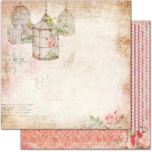 Bo Bunny - Little Miss Collection - 12 x 12 Double Sided Paper - Maree
