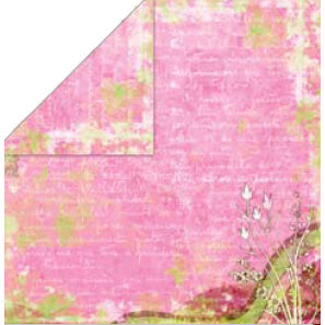 Bo Bunny Press - My Darling Collection - 12 x 12 Double Sided Paper - My Darling Bella, CLEARANCE