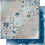 Bo Bunny Press - Midnight Frost Collection - Christmas - 12 x 12 Double Sided Paper - Midnight Frost