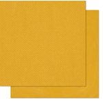 Bo Bunny - Double Dot Designs - 12 x 12 Double Sided Paper - Maize
