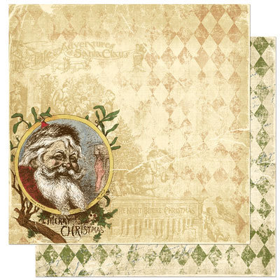 Bo Bunny Press - Noel Collection - Christmas - 12 x 12 Double Sided Paper - Noel