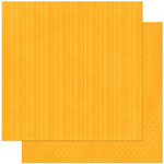 Bo Bunny Press - Double Dot Designs Collection - 12 x 12 Double Sided Paper - Stripe - Orange Citrus