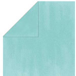 Bo Bunny Press - Double Dot Paper - 12 x 12 Double Sided Paper - Ocean Dot